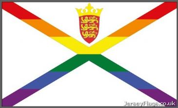 Jersey Gay Pride  (Without Rainbow Crown)